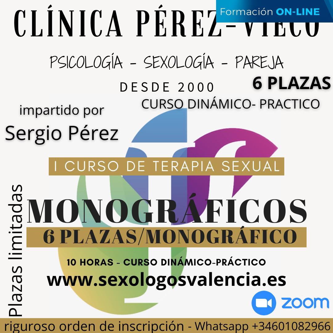 Curso de Terapia Sexual y Sexología Clinica